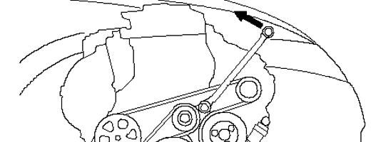 снятие приводного ремня Хонда Цивик