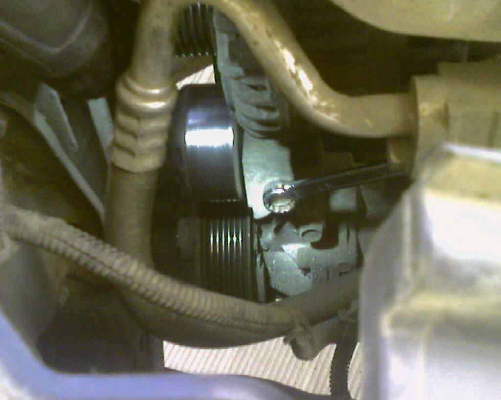 Замена ремня генератора на кашкай своими руками 842